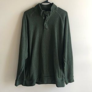 Old Navy Green Men Pullover Sweater w Pockets XXL